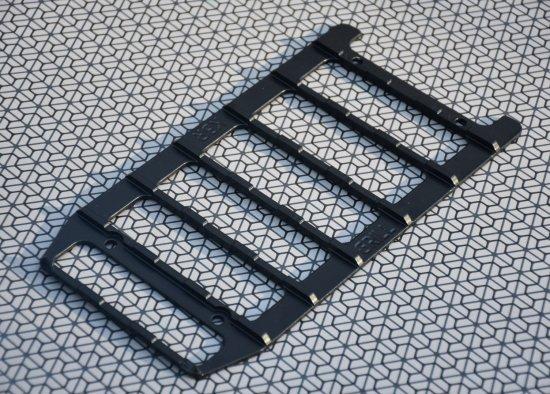 KBR GRILL - crossový protiskluz na stupátko - černá