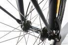 Koloběžka do města Kickbike City G4 černá detail předního kola