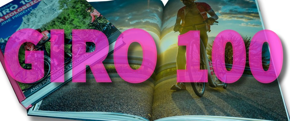 Kniha GIRO 100 na koloběžce, aneb půl života s koloběžkou